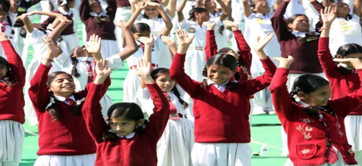 MP schools asked to hold Surya Namaskar