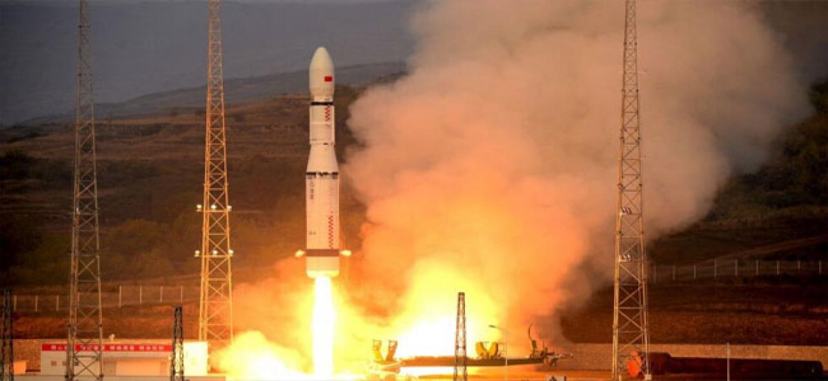 China launches first shared edn satellite