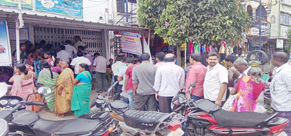 Singareni staff rue currency ban