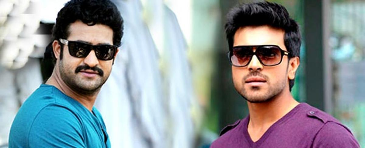 What did Charan tell NTR over the phone?