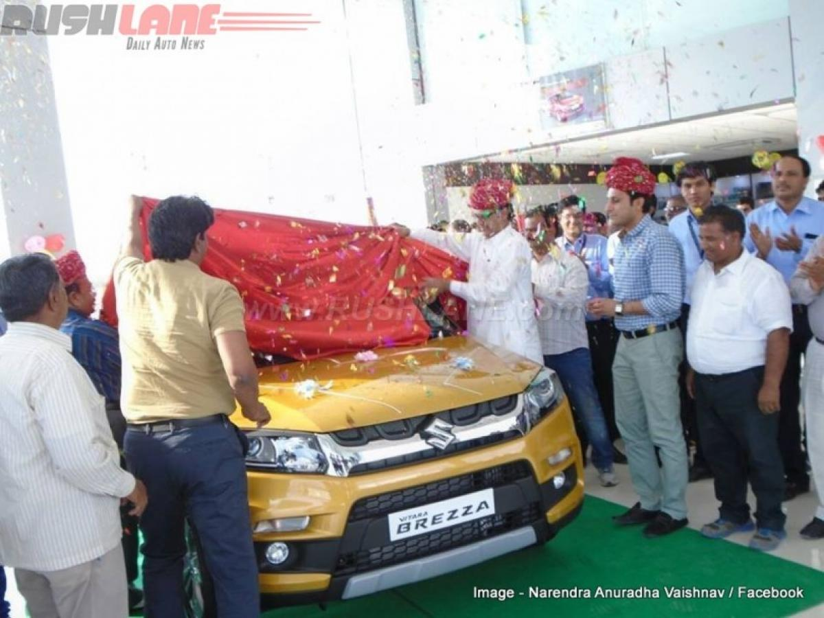 Maruti Vitara Brezza sell like hot cakes within days after launch