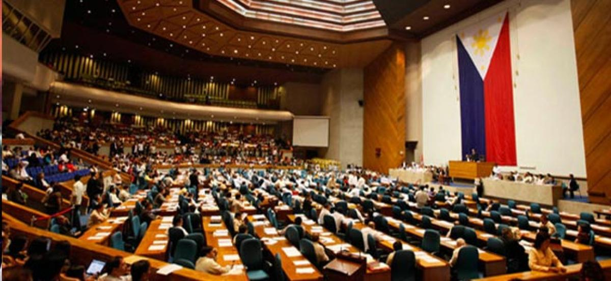 Philippine house passes death penalty bill