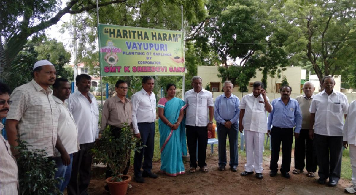 Vayupuri joins the green Initiative