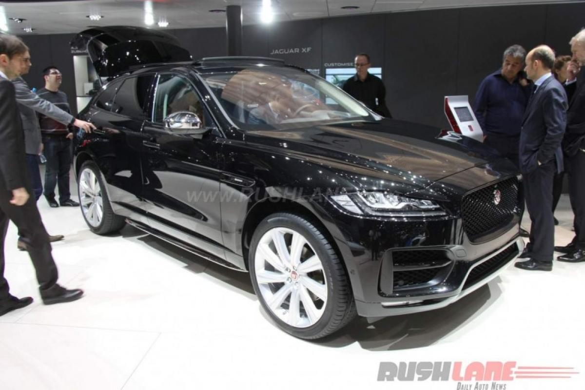 Check out: Jaguar F-Pace 30d AWD features at Geneva Motor show 2016