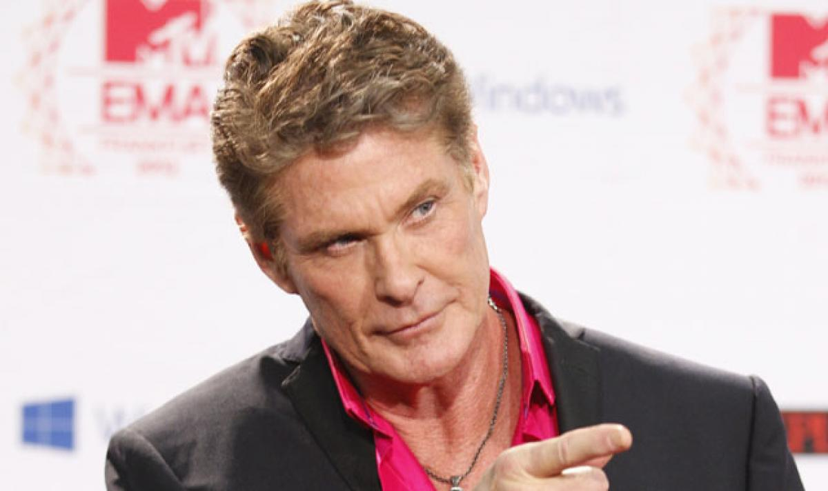 Cant recreate me: Hasselhoff on Baywatchfilm