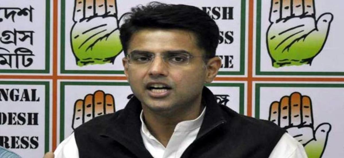 Manohar Parrikar, PM Modi has let down soldiers on OROP: Sachin Pilot