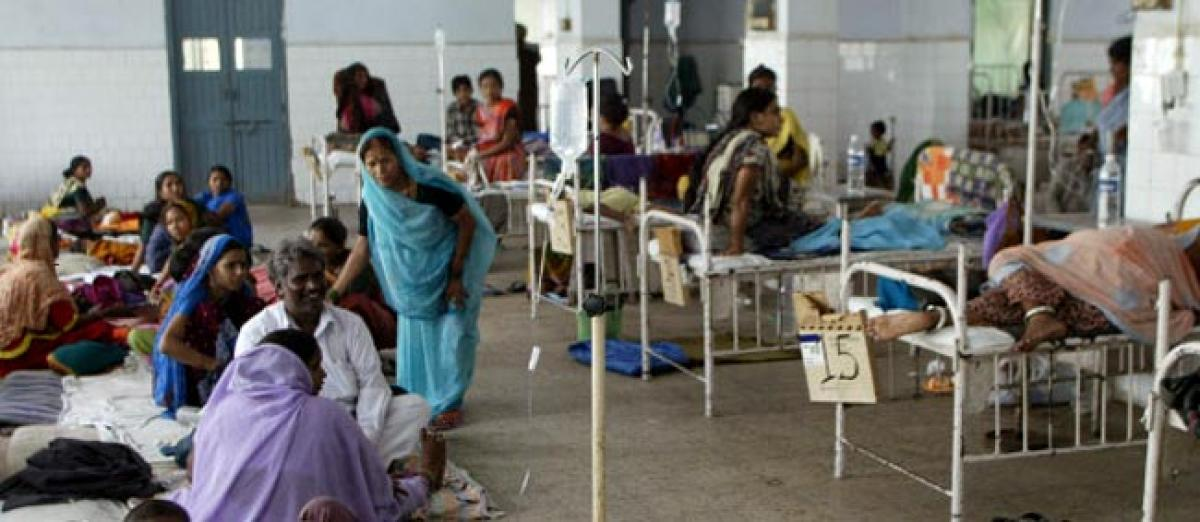 Contagious diseases up 32% in five years, spending rises by 7%