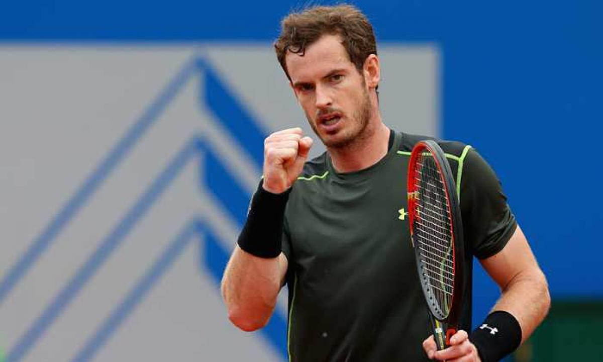Andy Murray leads the ATP rankings