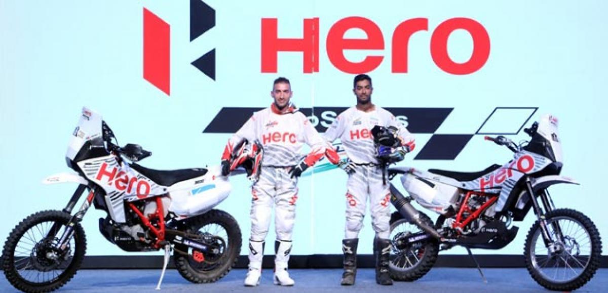 Santosh & Joaquim Rodrigues gear-up for Dakar 2017