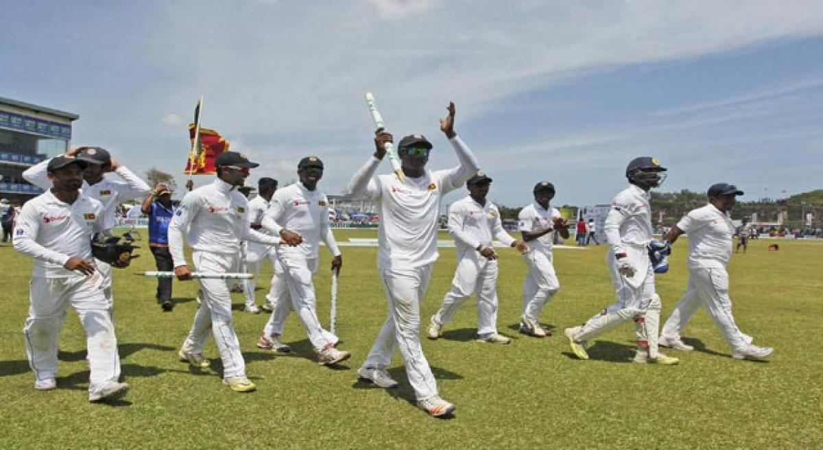 Sri Lanka conquer Aussies after 17 years.