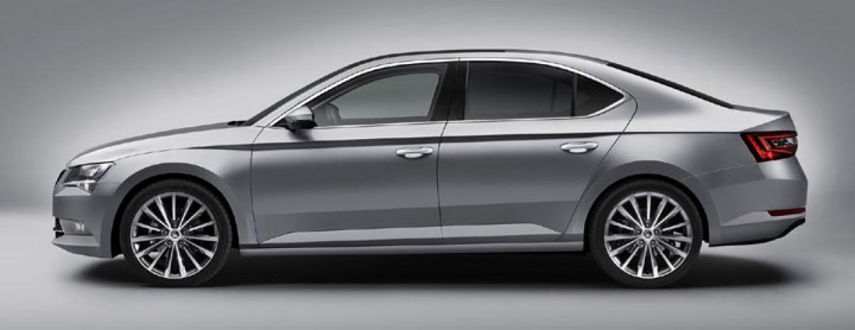 New Skoda Superb launched