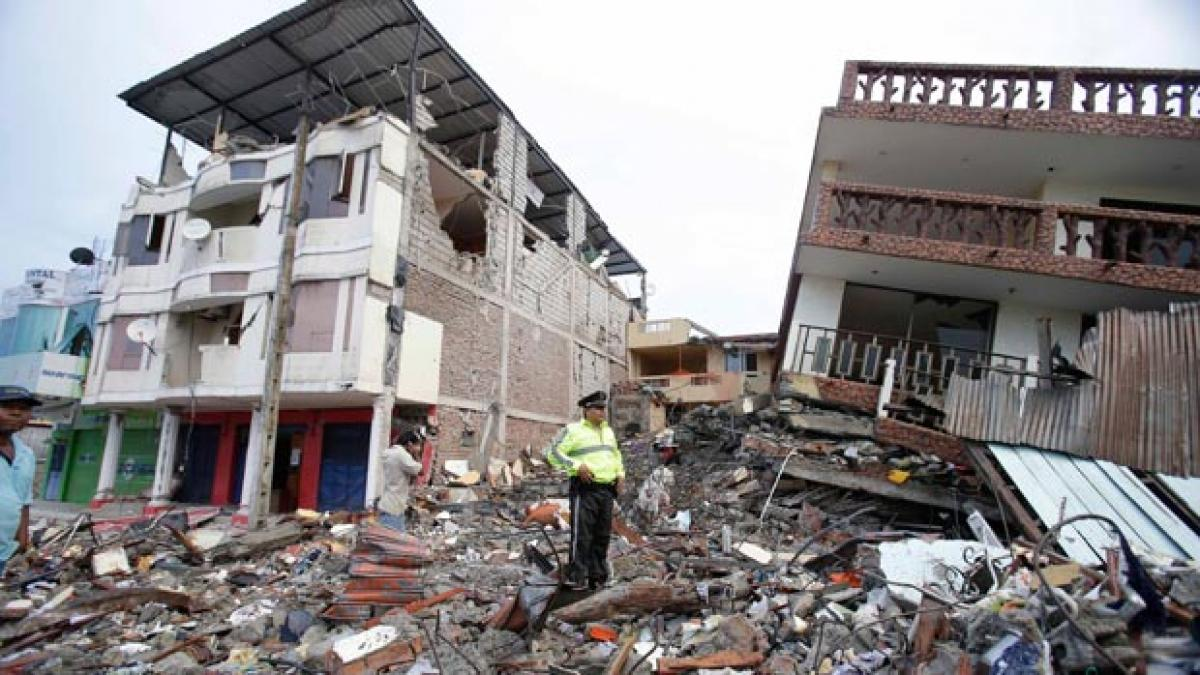 It will cost billions to rebuild Equador after deadly earthquake