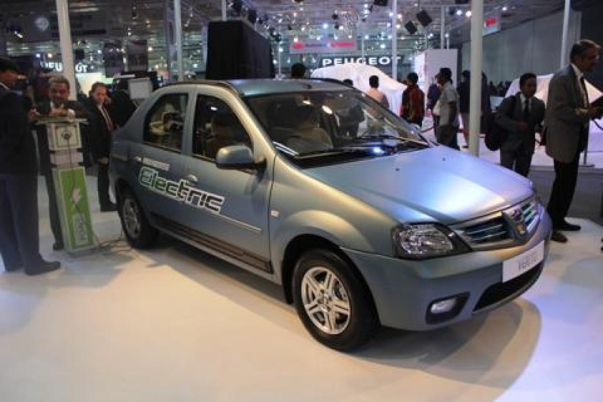 Mahindra launches Electric Verito at Rs9.5 lakhs