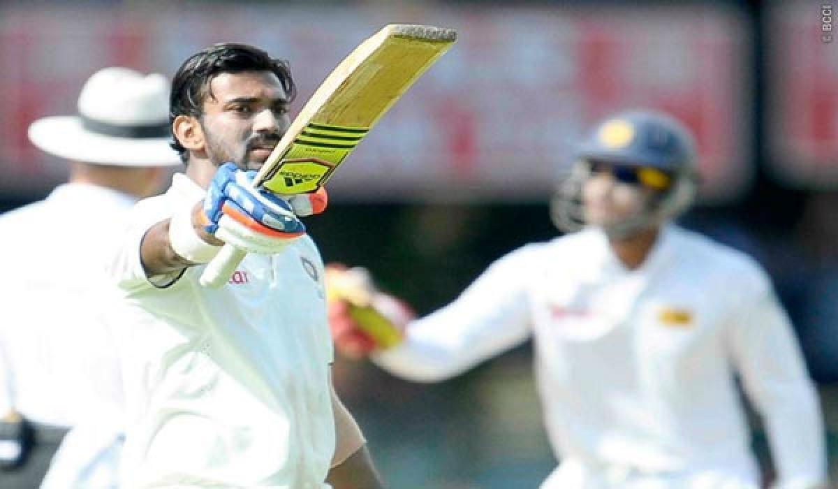 KL Rahuls career best in second Test against West Indies