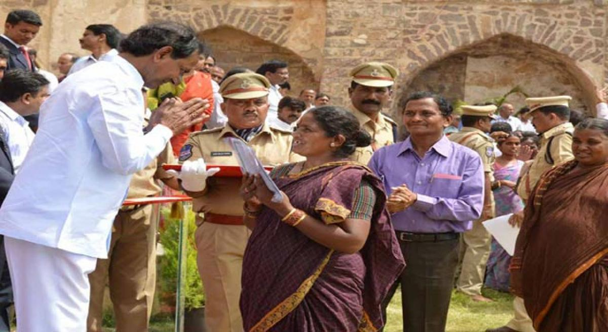 4 lakh beneficiaries await promised land