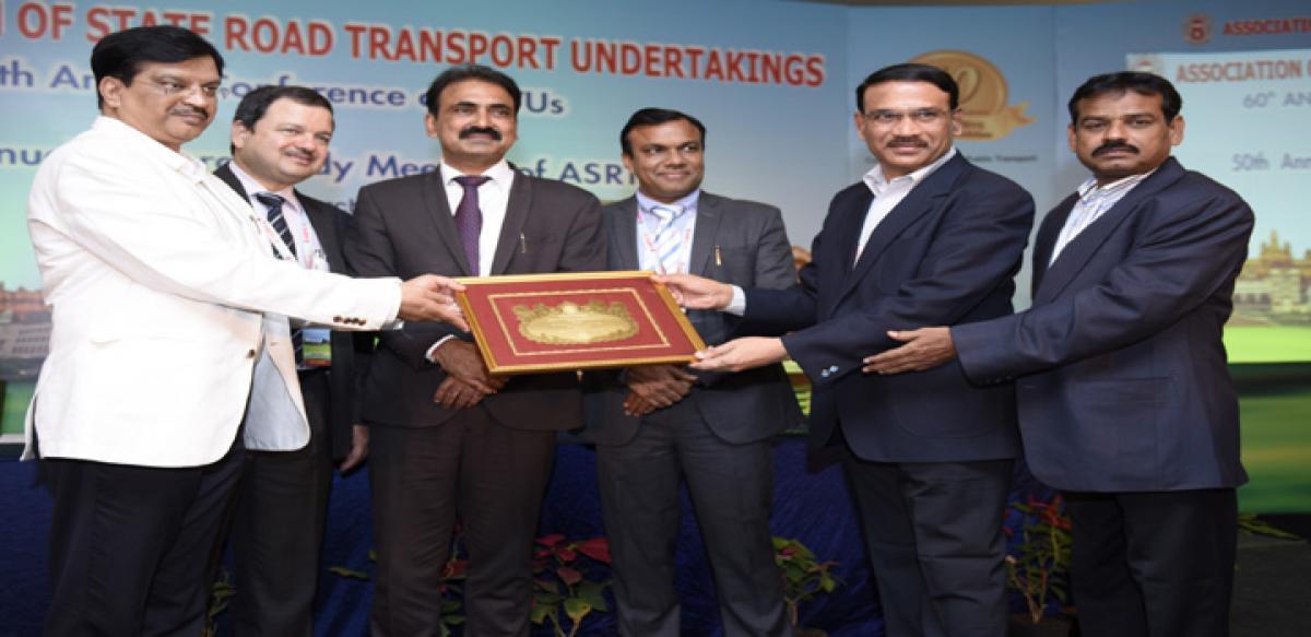 TSRTC bags prestigious honours