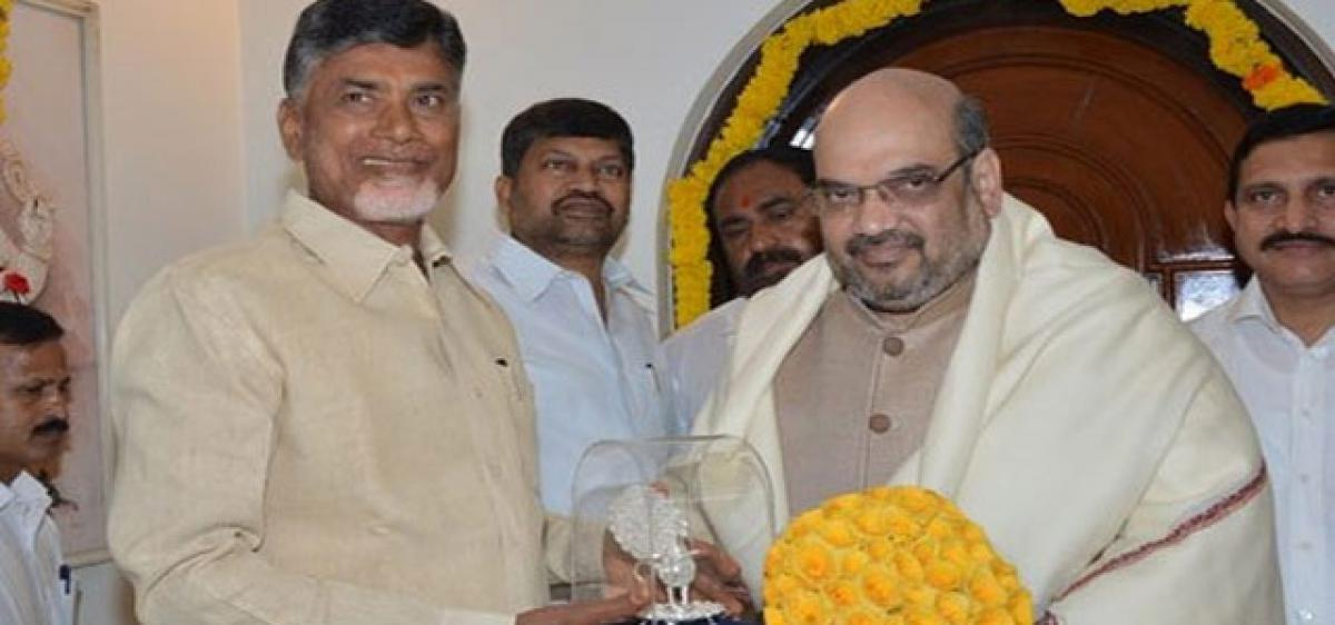 Signs of chill in TDP-BJP alliance?