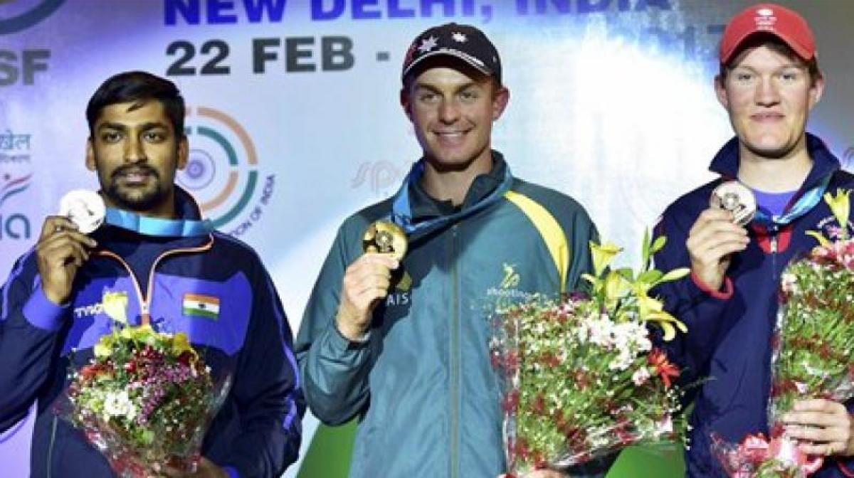 ISSF World Cup: Ankur Mittal bags silver after mixed teams super show