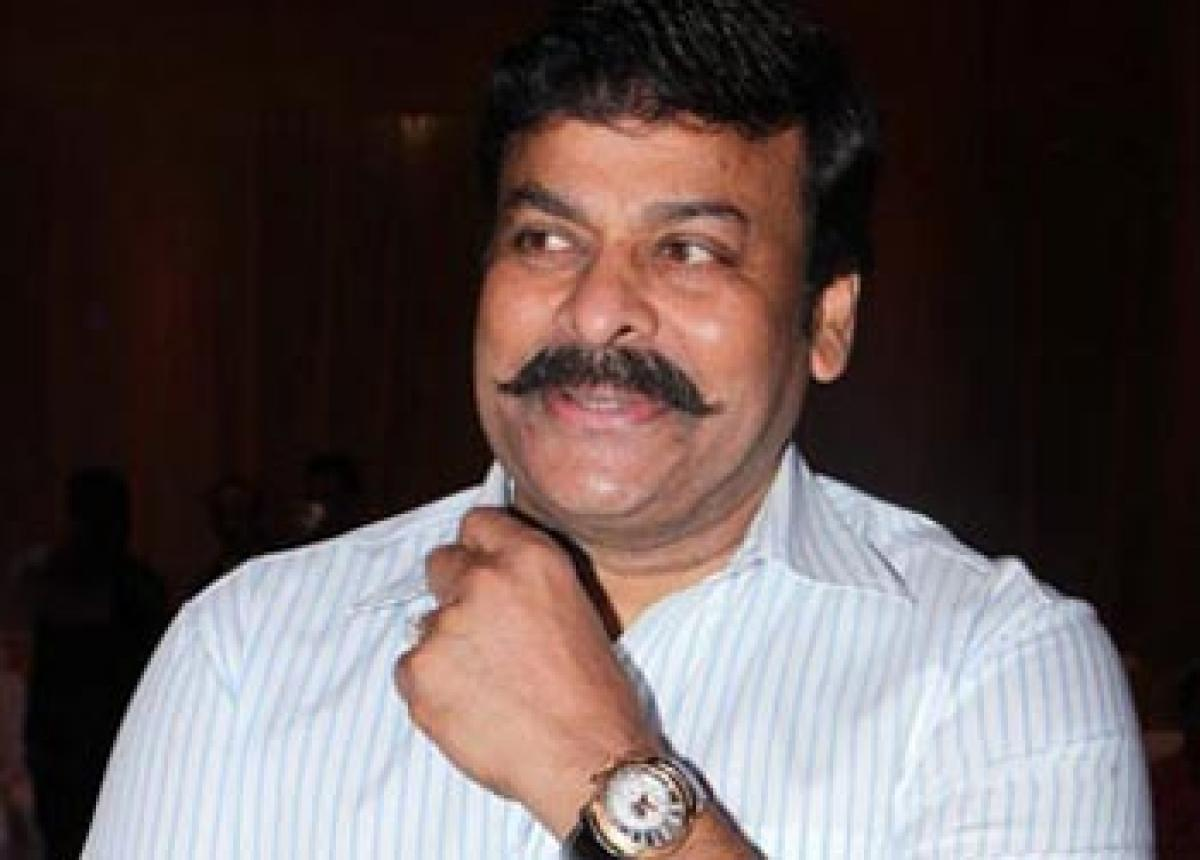 Chiru's new look becomes talk of the town
