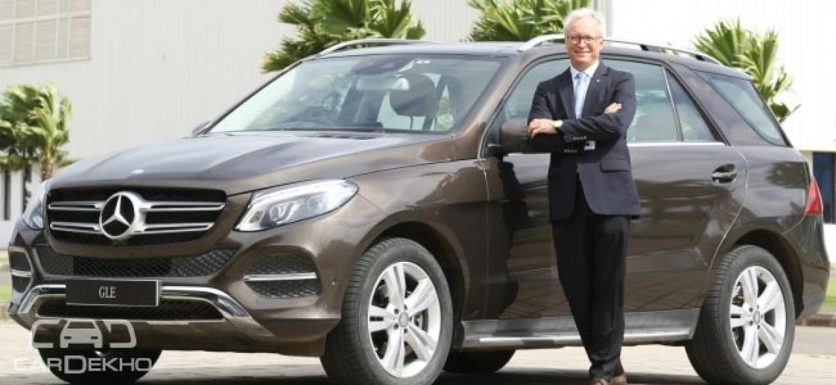 Mercedes-Benz GLE400 4MATIC Launched; Priced At Rs 74.90 Lakh