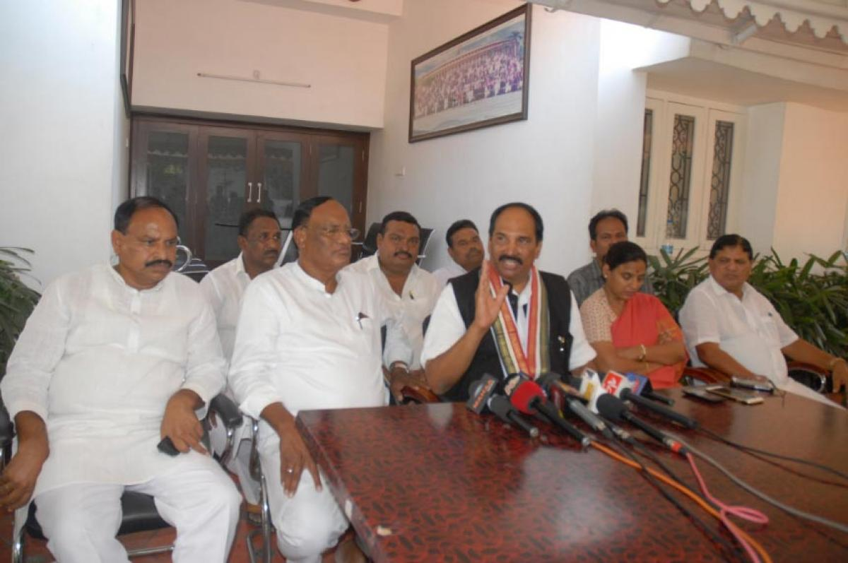 It's against House rules: TPCC chief
