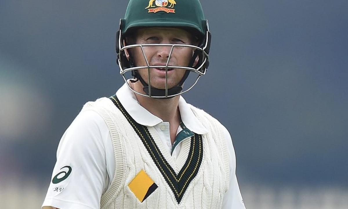 Australia batsman Adam Voges struck by bouncer, suffers concussion