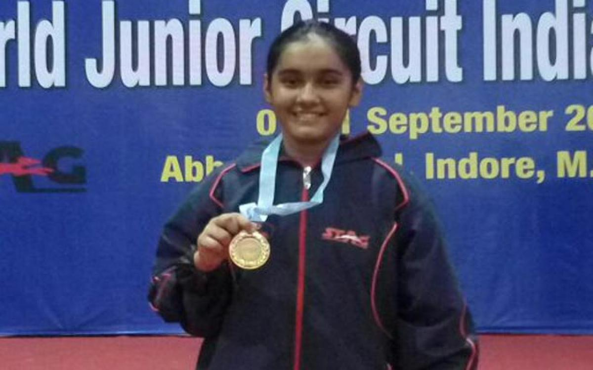 Varuni wins ITTF Junior title