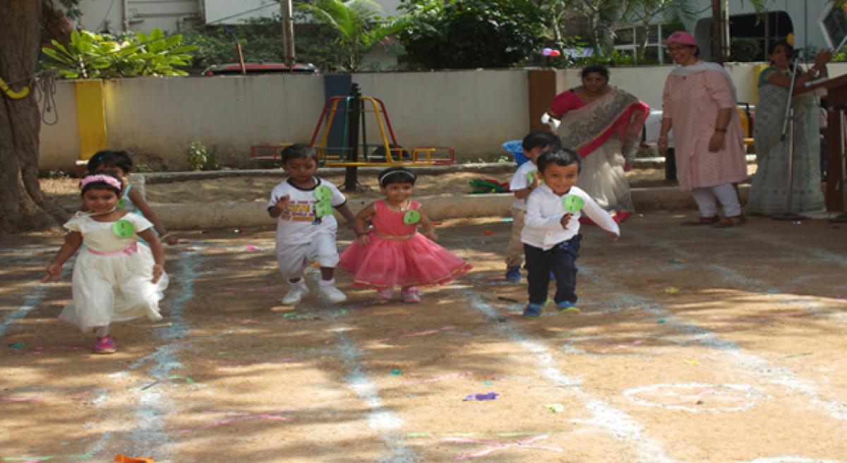 Sister Nivedita School sports day