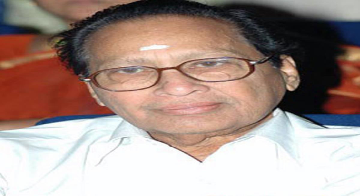Actor Kantha Rao remembered