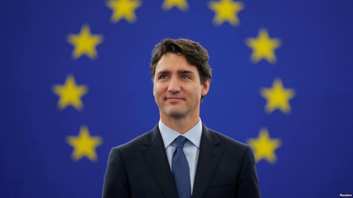 Canadian Prime Minister addresses European Parliament after EU-Canada trade deal