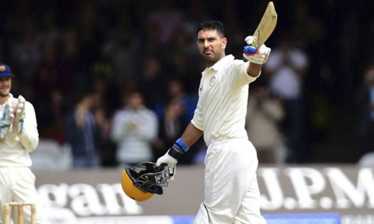 Ranji Trophy: Yuvraj Singh scores 164 for Punjab