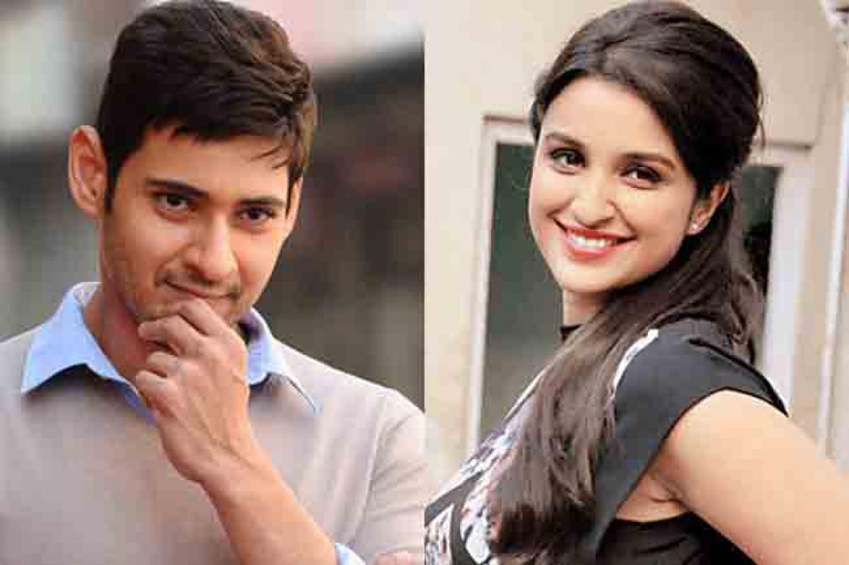 Mahesh Babu teaming up with Bollywood actress?