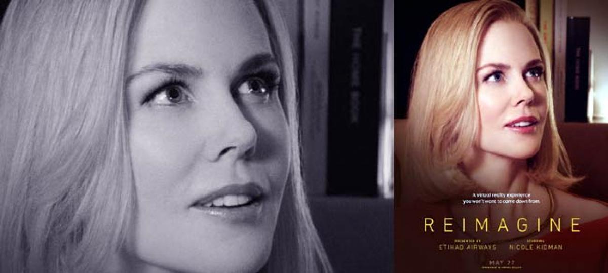 Virtual Reality Film Nicole Kidman To Be Screened At Arabian Travel Market