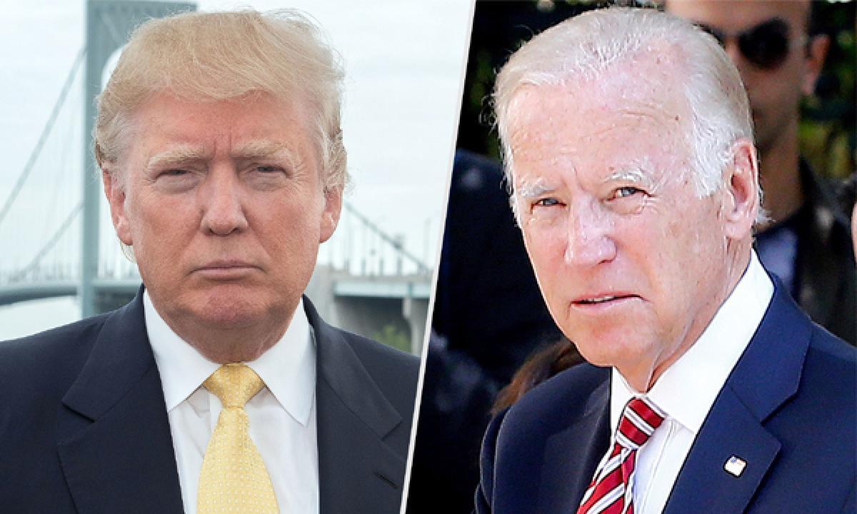 Grow up Donald, time to be an adult says US VP Joe Biden