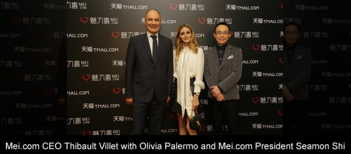 Mei.com & Alibaba Launch the TMALL Luxury Flash-Sale Channel with Star-Studded Live-Streamed Fashion Show