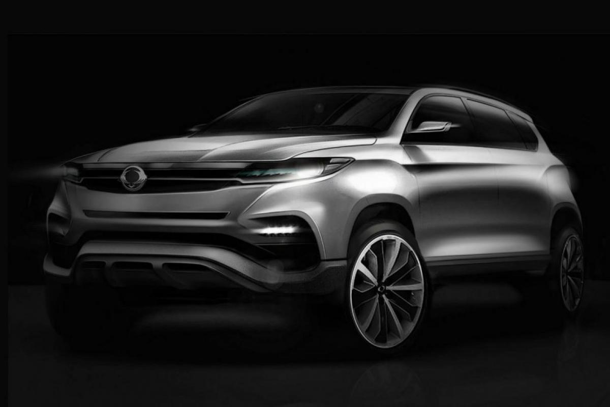 Paris motor show to display 2017 SsangYong Rexton