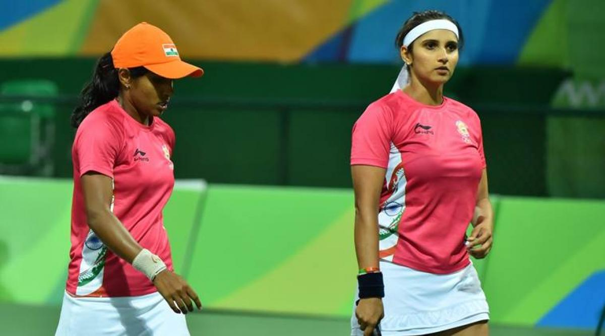 Rio 2016: Sania-Prarthana crash out of womens doubles