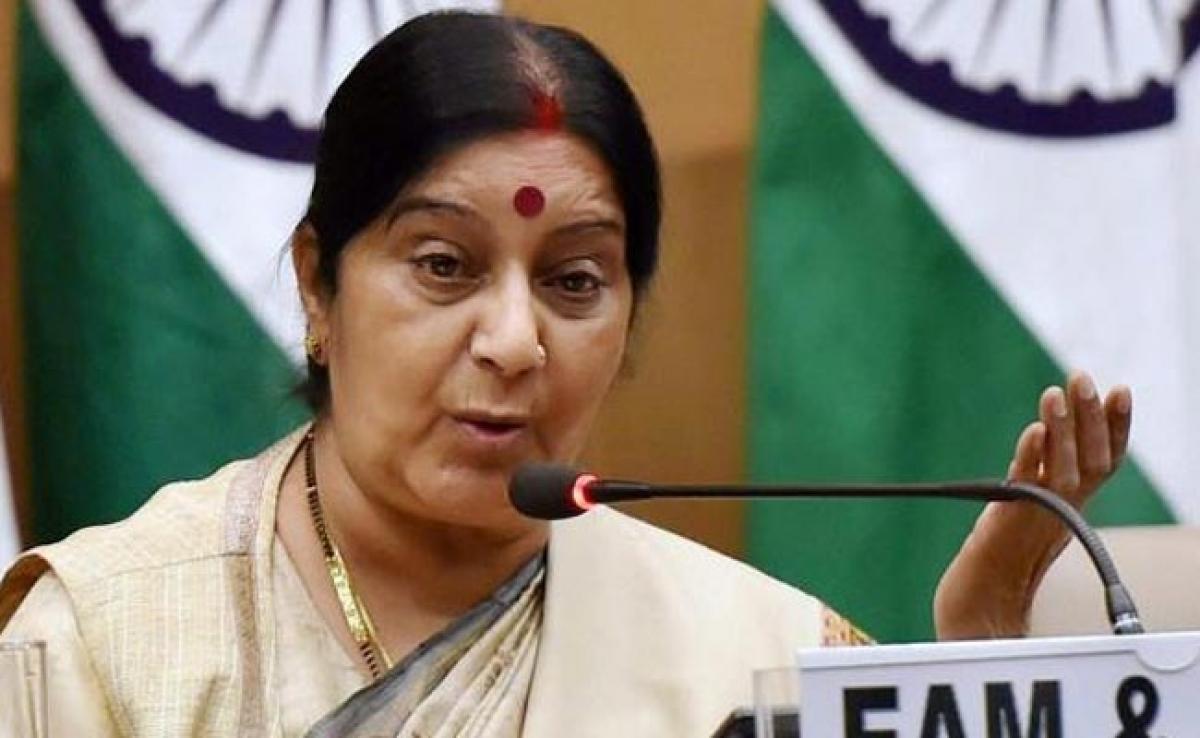 Sushma Swaraj Assures Help To Student Admitted In Georgia Hospital