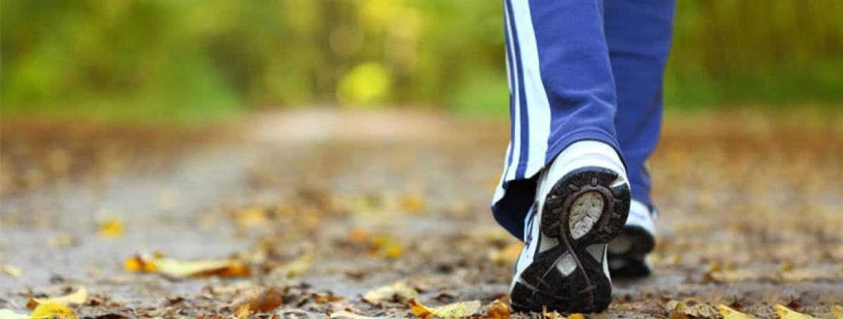 Pick up walking pace to be heart healthy