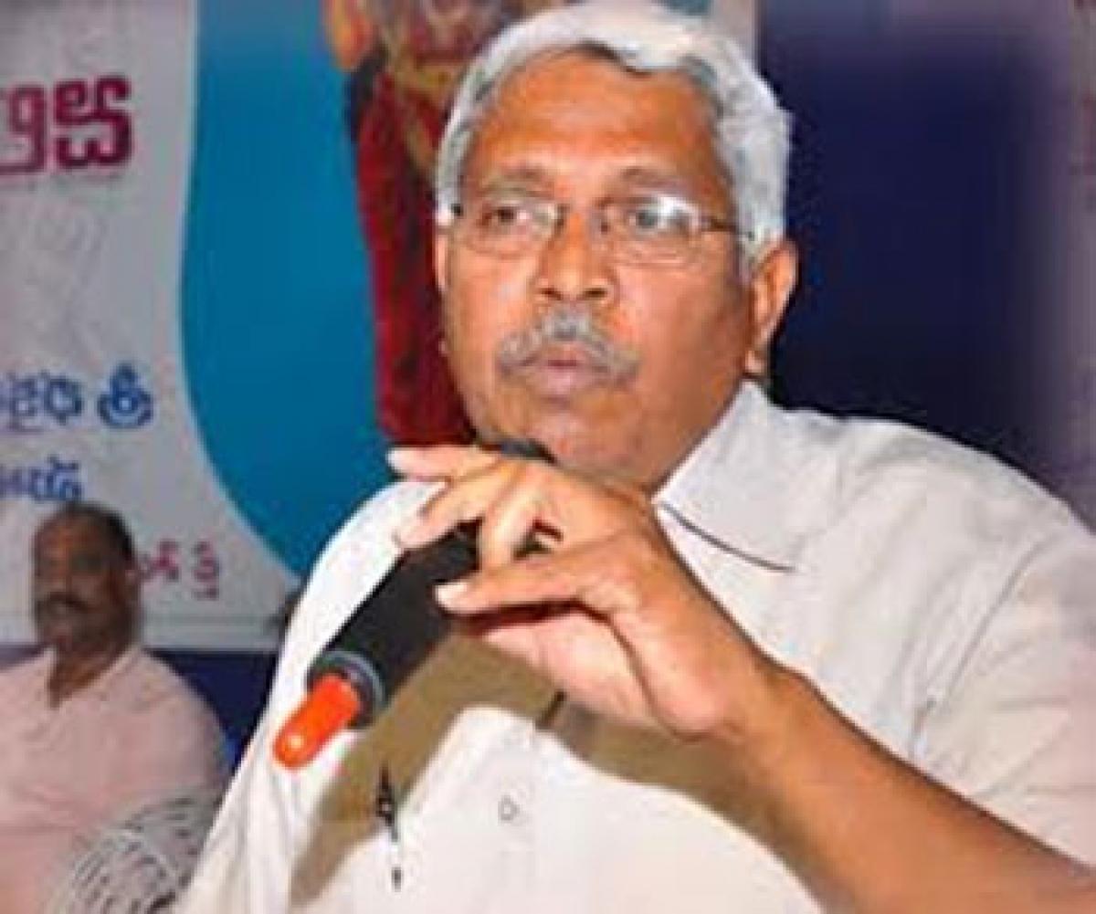 Kodandaram condemns police deployment at UoH
