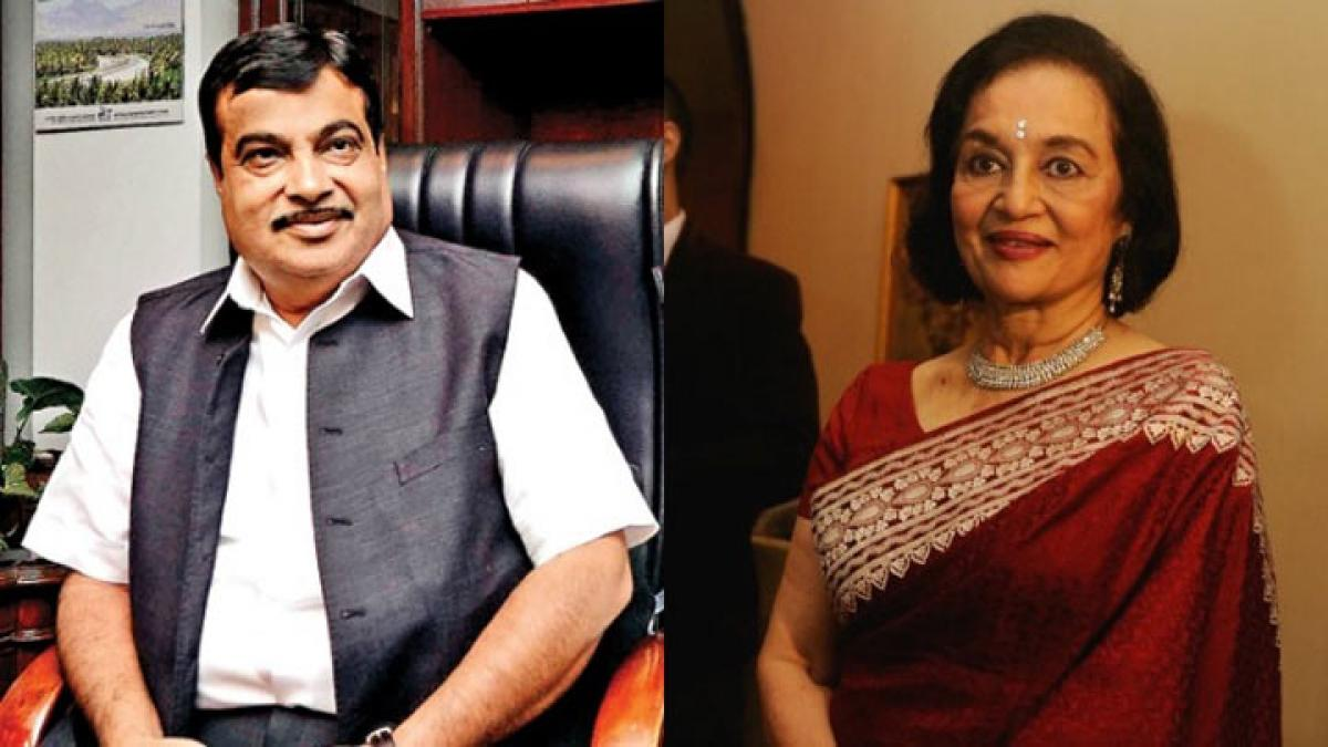Asha Parekh climbed 12 floors to lobby for Padma Bhushan: Gadkari