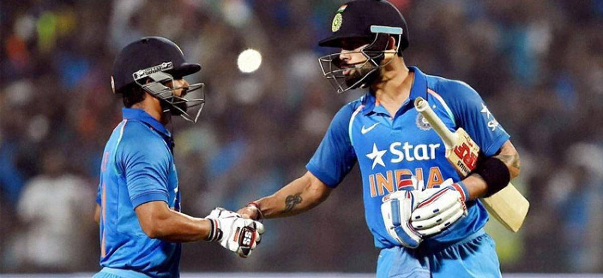 Kohli, Jadhav power India to thrilling win