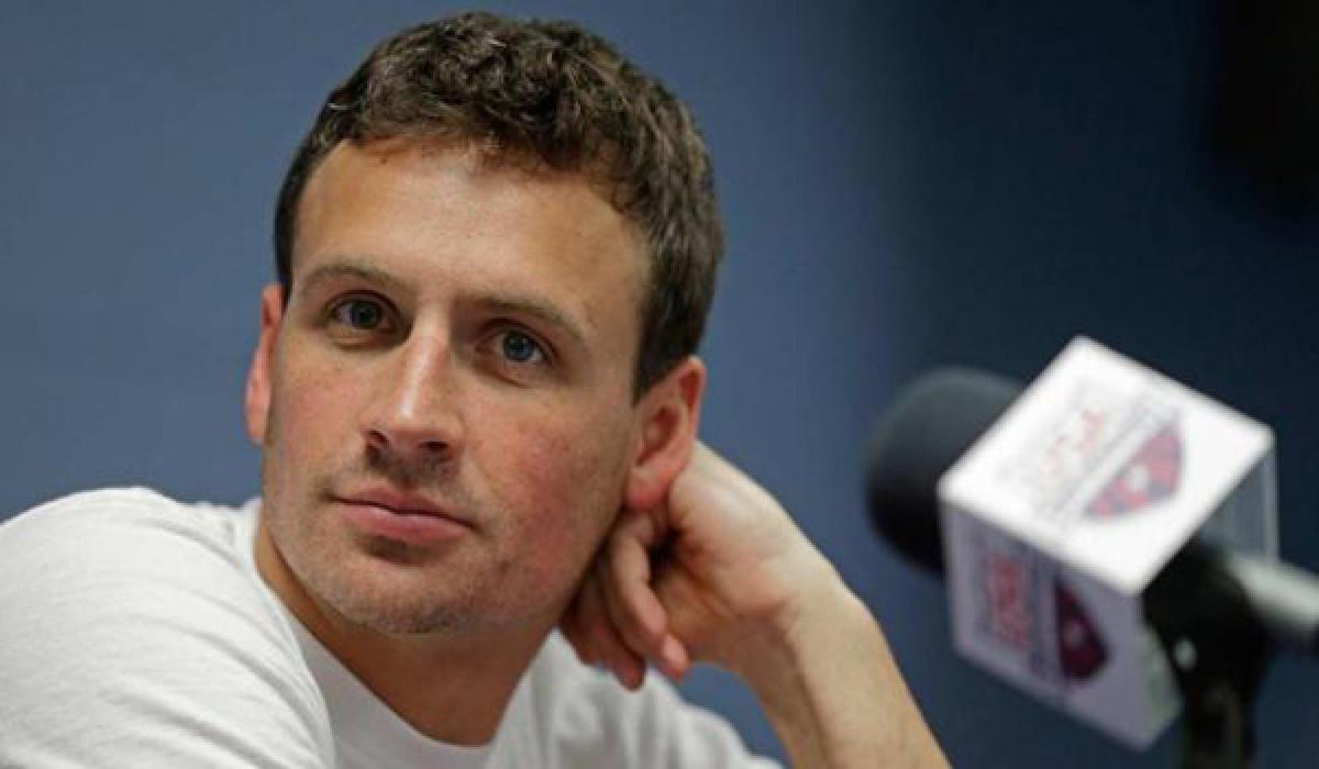 Ryan Lochte U.S.A gold medalist apologizes on Brazils National TV
