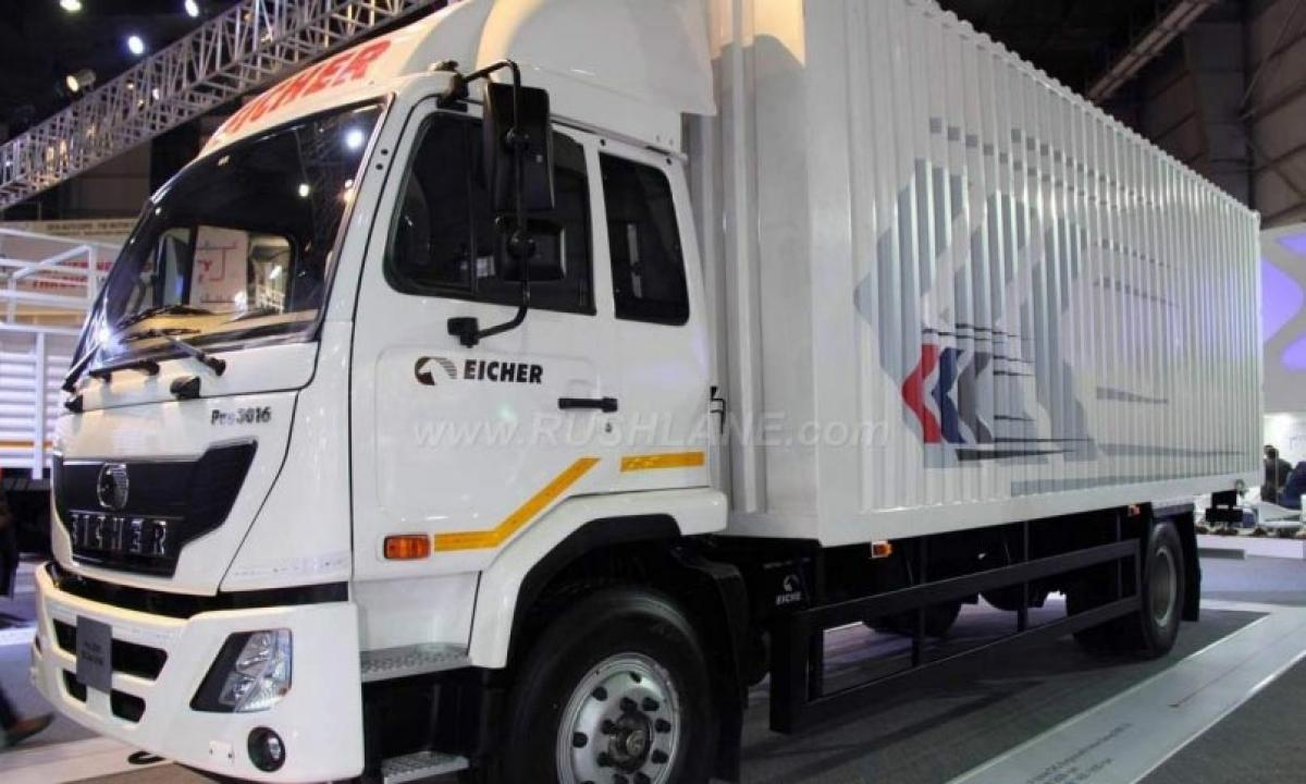 2016 Auto Expo – Eicher Pro and Eicher Trucks