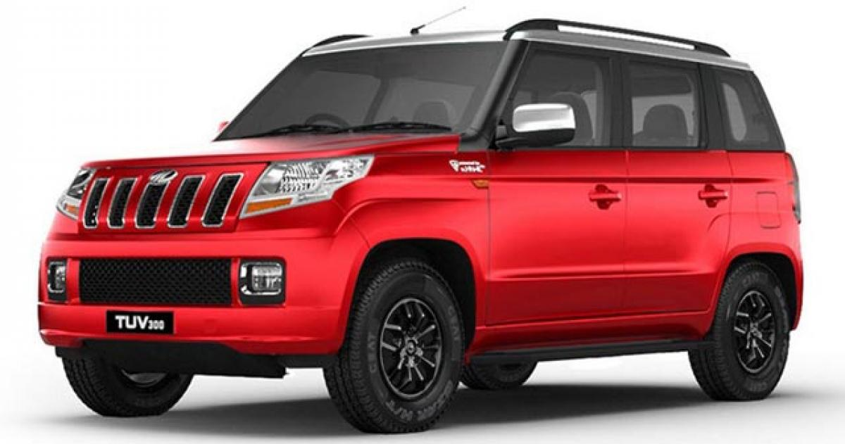 Mahindra launches 100HP TUV300 at Rs 8.98 lakh