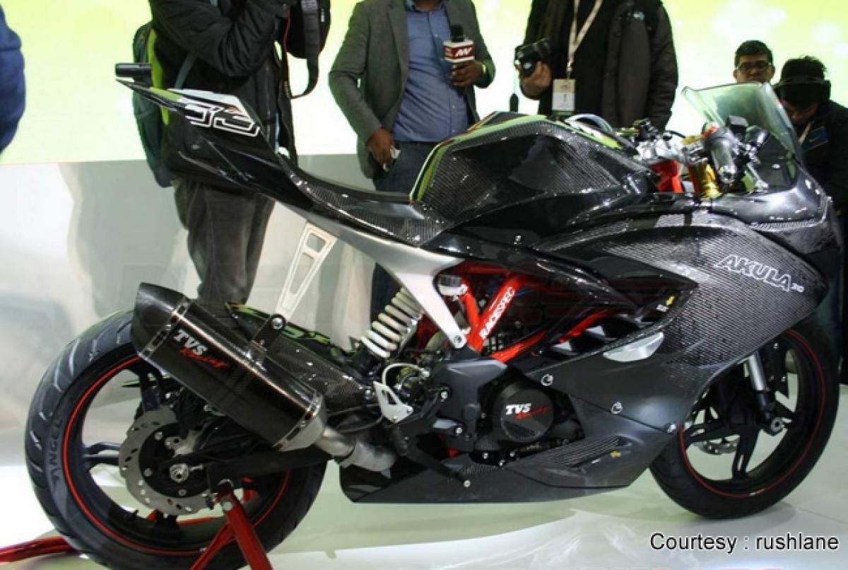Check out: TVS Akula concept bike based on BMW G310R at Auto Expo 2016