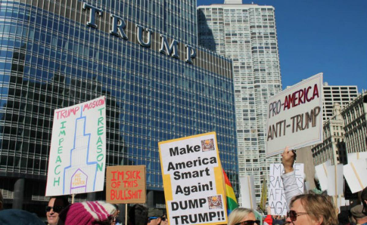 Thousands In US Plan Protest On President