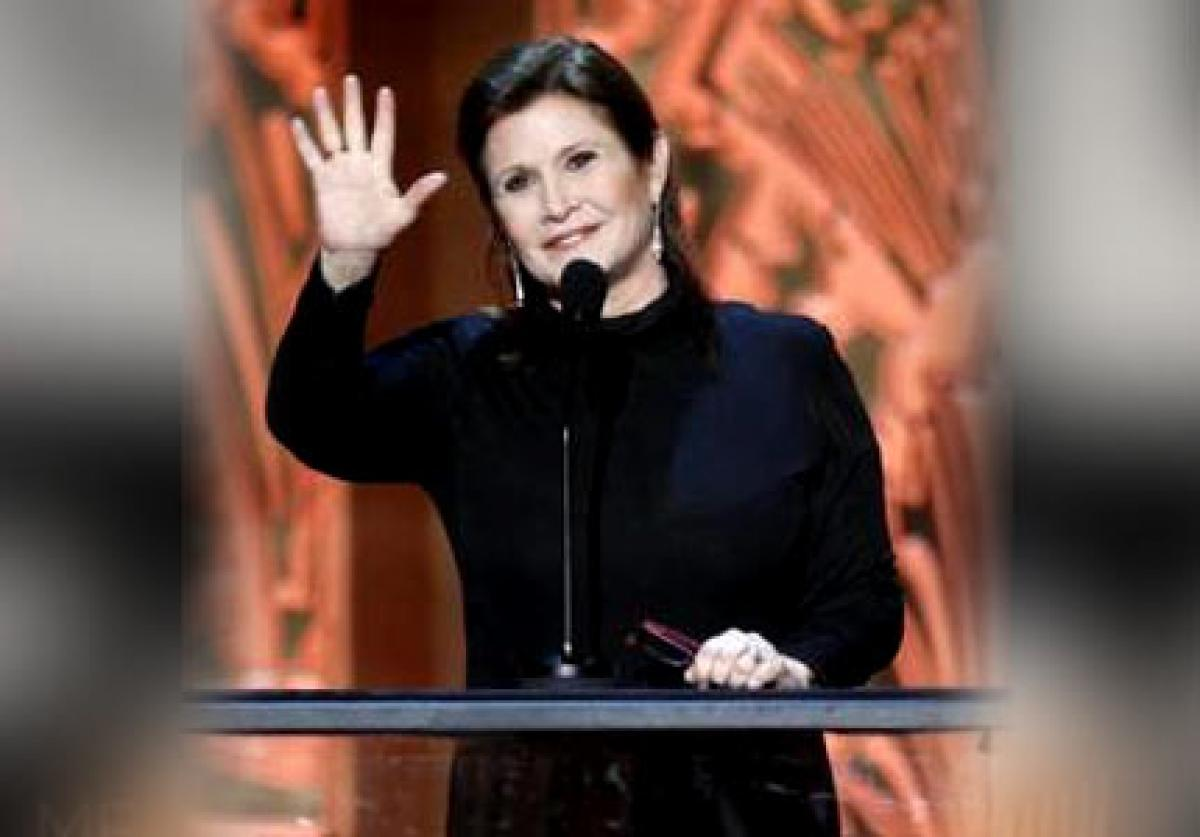 Carrie Fisher`s mom gifted her sex toys for X-mas