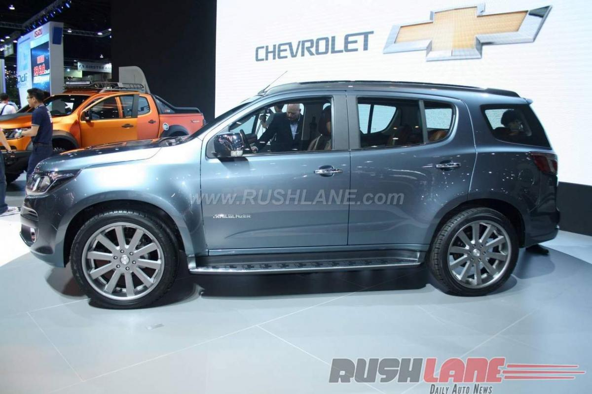 Check out: Chevrolet Trailblazer Facelift specifications at Bangkok Motor Show 2016