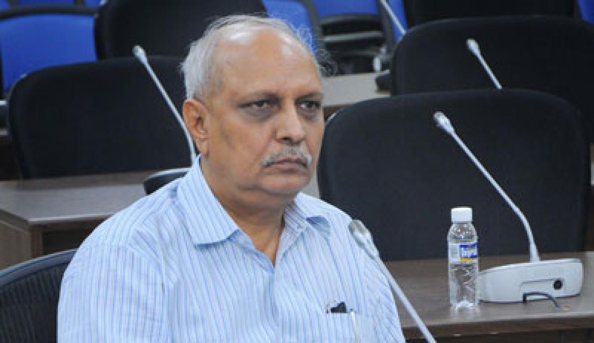 IYR Krishna Rao sacked for sharing posts on Facebook criticising Chandrababu Govt